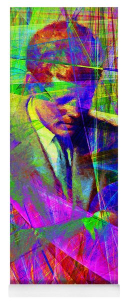 John Fitzgerald Kennedy Jfk In Abstract 20130610v2 Yoga Mat