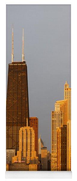 John Hancock Center Chicago Yoga Mat