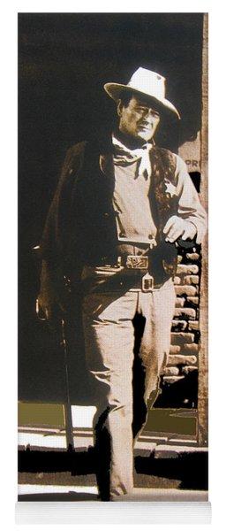 John Wayne Exciting The Sheriff's Office Rio Bravo Set Old Tucson Arizona 1959-2013 Yoga Mat