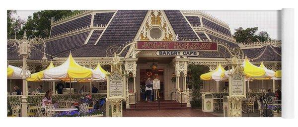 Jolly Holiday Cafe Main Street Disneyland 02 Yoga Mat