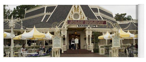 Jolly Holiday Cafe Main Street Disneyland 03 Yoga Mat