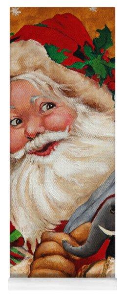 Jolly Santa Yoga Mat