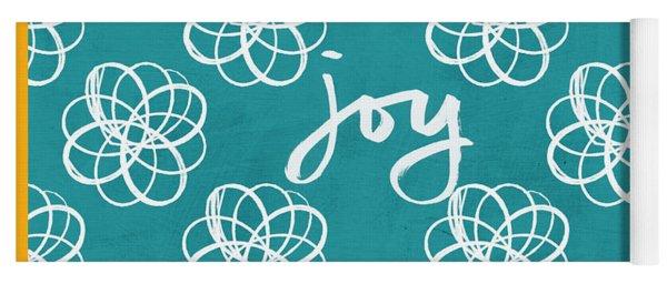 Joy Boho Floral Print Yoga Mat
