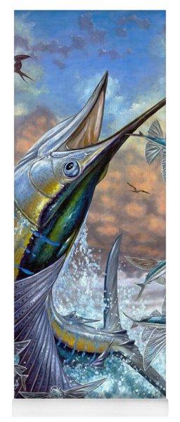 Jumping Sailfish And Flying Fishes Yoga Mat