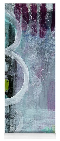 Junction- Abstract Expressionist Art Yoga Mat