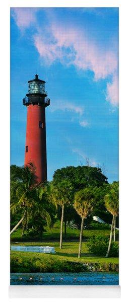 Jupiter Florida Lighthouse Yoga Mat