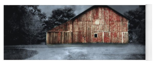 Night Time Barn Yoga Mat