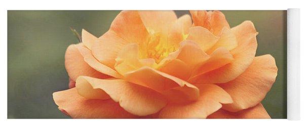 Just Peachy - Rose Yoga Mat