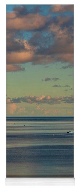 Kaneohe Bay Panorama Mural 4 Of 5 Yoga Mat