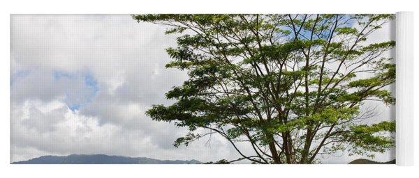 Kauai Umbrella Tree Yoga Mat
