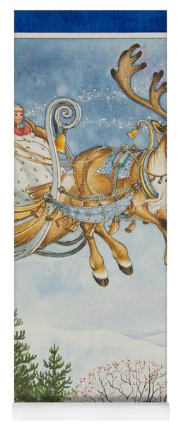 Kay And The Snow Queen Yoga Mat