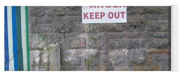 Keep Out Aran Islands Ireland Yoga Mat