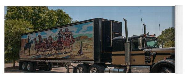 Keep Those Wheels A Truckin Yoga Mat