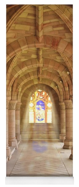 Kelso Abbey Stained Glass Yoga Mat