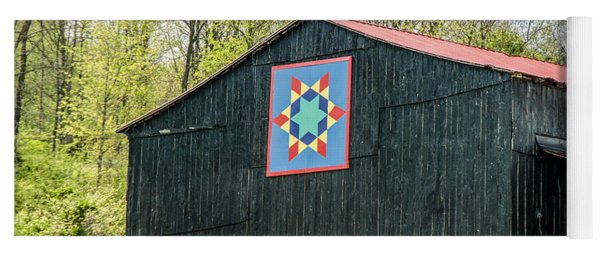 Kentucky Barn Quilt - 2 Yoga Mat