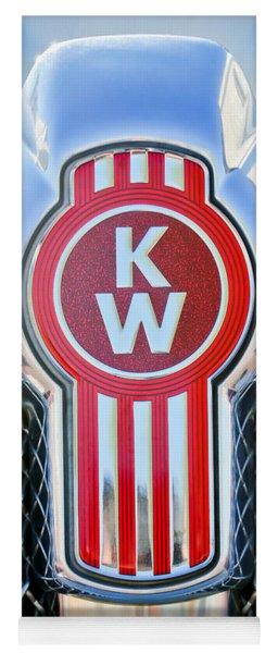 Kenworth Truck Emblem -1196c Yoga Mat