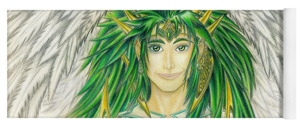 King Crai'riain Portrait Yoga Mat