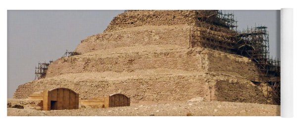 King Djoser The Great Of Saqqara Yoga Mat