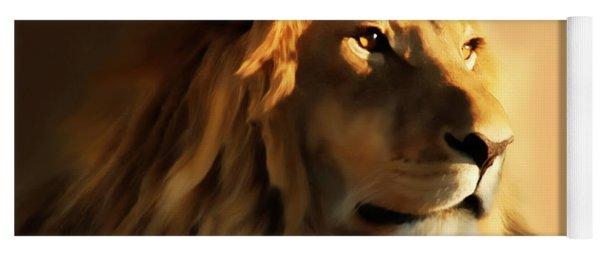King Lion Of Africa Yoga Mat