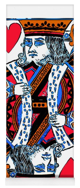 King Of Hearts 20140301 Yoga Mat