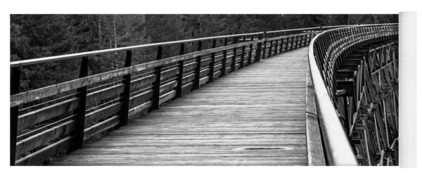 Kinsol Trestle Boardwalk  Yoga Mat