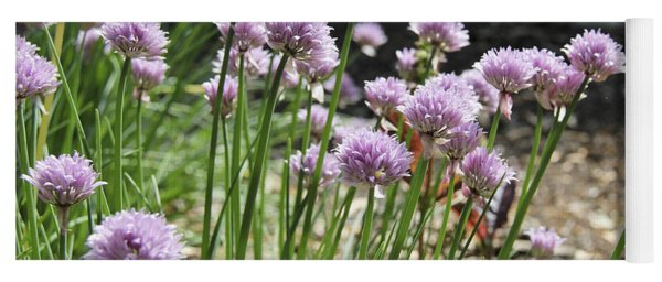 Kitchen Garden Chives Yoga Mat