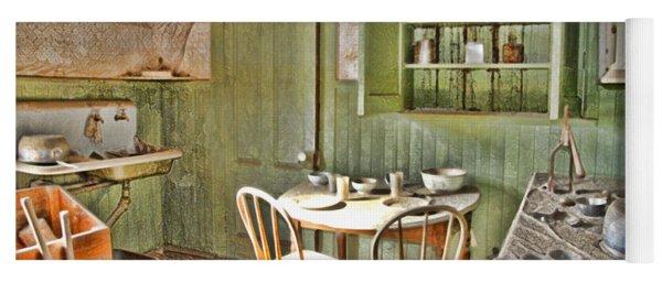 Kitchen In Bodie By Diana Sainz Yoga Mat
