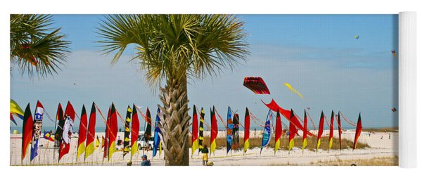 Kite Day At St. Pete Beach Yoga Mat