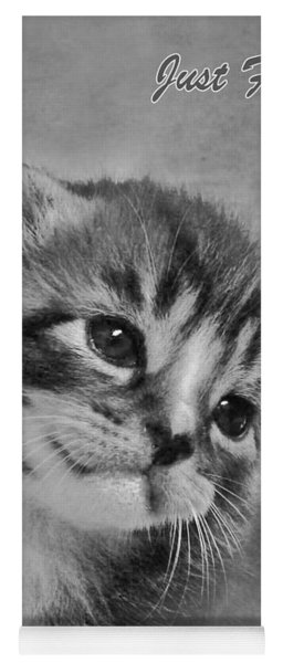 Kitten Just For You Yoga Mat