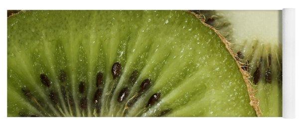 Kiwi Fruit Slices Yoga Mat