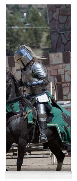 Knight In Shining Armor Yoga Mat