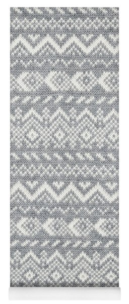 Knit Pattern Abstract Yoga Mat