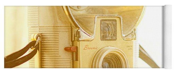 Kodak Brownie Starflash Camera Yoga Mat