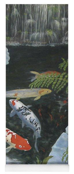 Koi Fish Yoga Mat