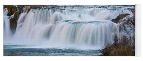 Krka Waterfalls Yoga Mat