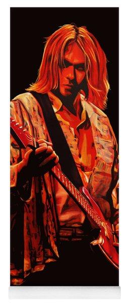Kurt Cobain Painting Yoga Mat