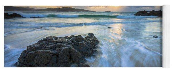 La Fragata Beach Galicia Spain Yoga Mat