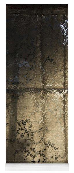 Lace Curtain 1 Yoga Mat