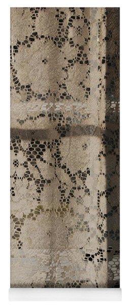 Lace Curtain 2 Yoga Mat