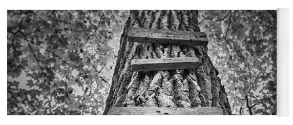 Ladder To The Treehouse Yoga Mat