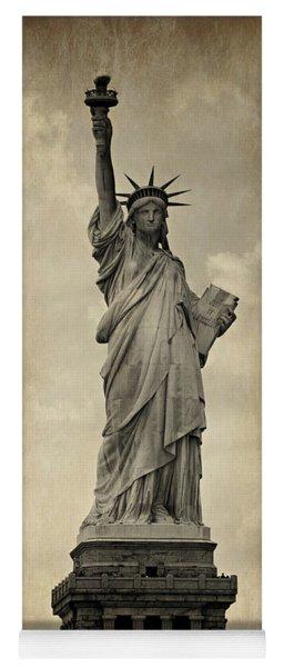 Lady Liberty No 11 Yoga Mat