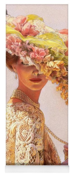 Lady Victoria Victorian Elegance Yoga Mat