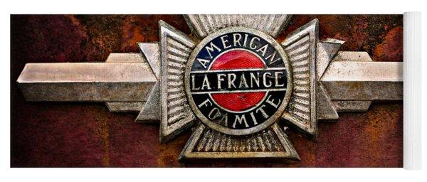 Lafrance Badge Yoga Mat