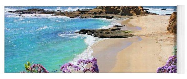 Laguna Beach Coastline Yoga Mat