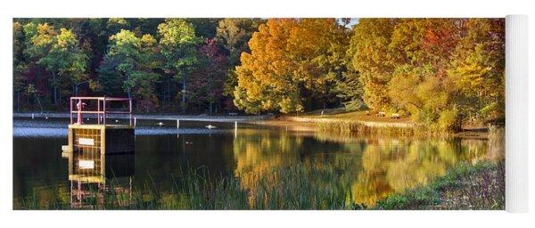 Lake At Chilhowee Yoga Mat