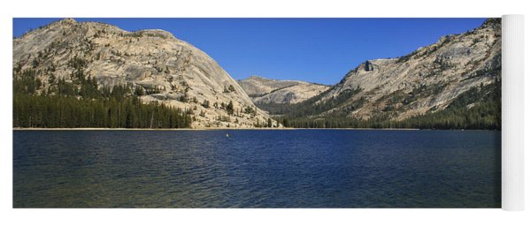 Lake Ellery Yosemite Yoga Mat