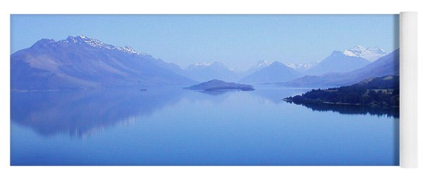 Lake Glenorchy New Zealand Yoga Mat