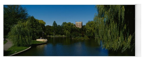 Lake In A Formal Garden, Boston Public Yoga Mat