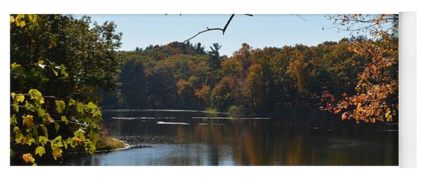 Lake In The Catskills Yoga Mat