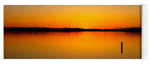 Lake Independence Sunset Yoga Mat